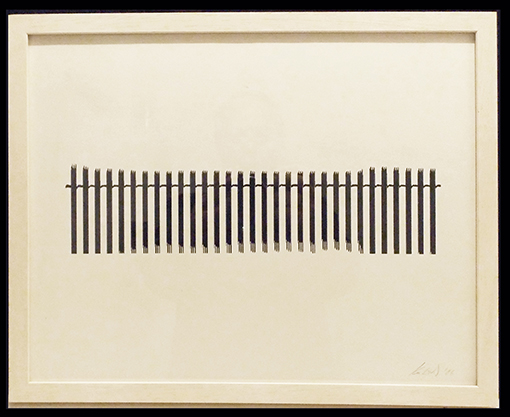 Christina Kubisch - Waveform Print 3 (unique, signed)