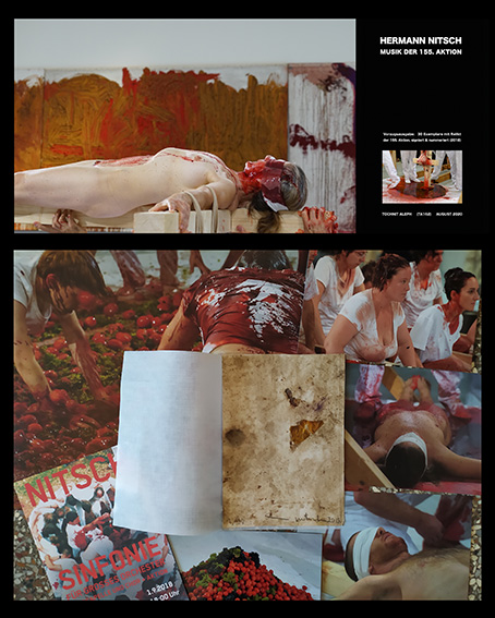 Hermann Nitsch - Musik der 155. Aktion 2CD Box / Art-Edition