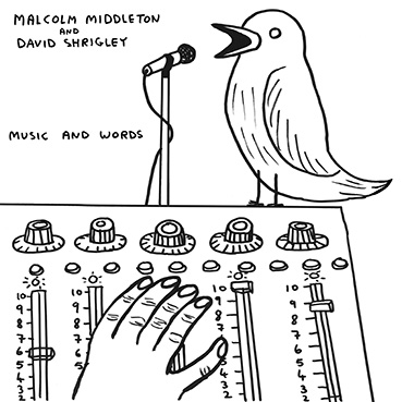David Shrigley & Malcolm Middleton - Words and Music CD 28532