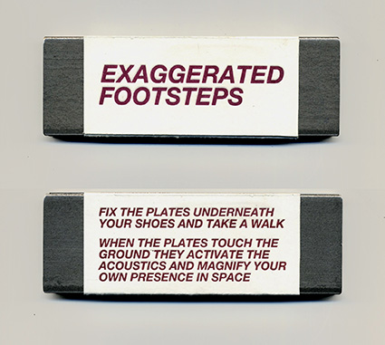 Davide Tidoni - Exaggerated Footsteps Object 28424