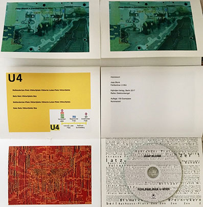 Jaap Blonk - Fehlberliner U-Wirr Book+CD 27571
