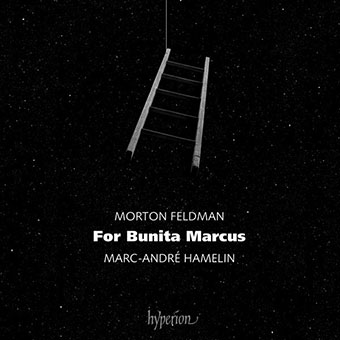 Morton Feldman - For Bunita Marcus (Marc-André Hamelin) CD 27612
