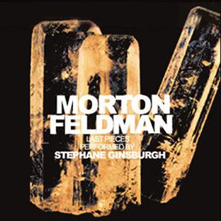 Morton Feldman - Last Pieces CD 26687