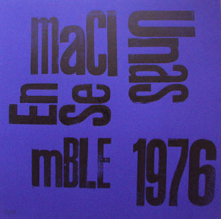 Maciunas Ensemble - 1976 LP (print) 26753