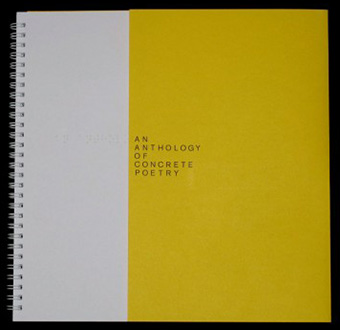 An Anthology of Concrete Poetry (in braille) Book