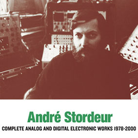 André Stordeur - Complete Analog and Digital Electronic Music 1978-2000 3CD 26449